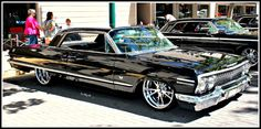 3 Black Impala's by StallionDesigns.d… on 3 Black Impala's by StallionDesigns. Chevrolet Impala 1963, Chevy Chevelle Ss, Chevrolet Trucks, 64 Impala, Old School Cars, Us Cars, Car Photos, Amazing Cars, Custom Cars