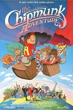 alvin and the chipmunks - chipmunks adventure. I watched this until the tape wouldn't play anymore. Obsesssssssed!
