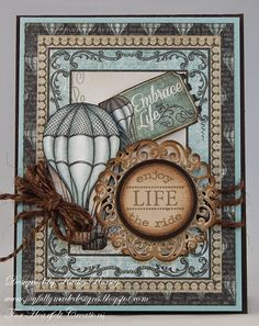 "Joyfully Made Designs: Embrace Life - Heartfelt Creations - (""Once upon a time DIE"" -Heartfelt)"