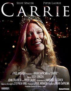 Premier roman de Stephen King, et film d'Halloween par excellence #blood #carrie #sang #halloween #princess #reinedubal