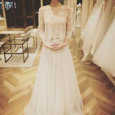 「#クリストスコスタレロス 本当に好きだ これを選んだmomiさん素敵すぎる #プレ花嫁 #結婚式 #結婚式準備 #ウェディング #ウェディングドレス…