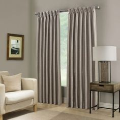 Give your window a lavish look with the Paradise Pinch Pleat Room Darkening Window Curtain Panel. Designed with a chic faux silk fabric with room darkening capabilities, the beautiful panel brings luxury to any room's decor. Living Room Decor Curtains, Kids Curtains, Cool Curtains, Room Darkening Curtains, Blackout Curtains, Window Curtains, Room Window, Cheap Home Decor, Spa