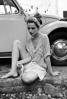 et petite *soft blouse...pleated shorts