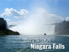 Best of the USA  Niagara Falls, New York #BestoftheUSA #travel