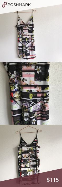 """Clover Canyon Floral Romper Jumper Clover Canyon Romper *same style as stock photo but different print* Size S NWT  Ties around waist  Bust: approx 17.5"""" across the front  Waist: approx 17"""" across the front  Inseam: 3.5"""" Side pockets Clover Canyon Pants Jumpsuits & Rompers"""