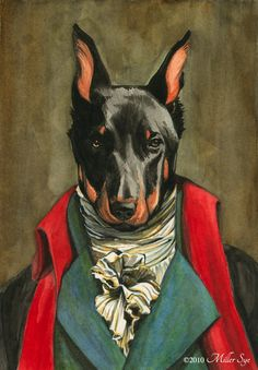 I've come across numerous works with animal heads on anachronistic figures, they always make me laugh.