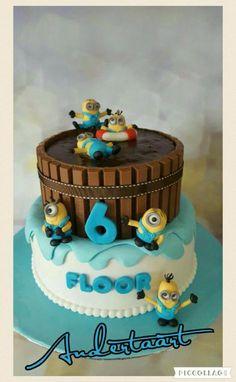 Minions - Cake by Anneke van Dam