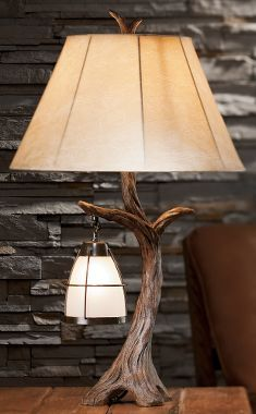 Not just for a cabin, but suitable for any rustic #WesternHome - Cabela's Hanging Lantern Table Lamp
