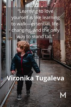 Vironika Tugaleva is so right saying self-love is just as essential to life as walking. Unfortunately, we do not teach our children to love themselves like we teach them to walk. A minimalist lifestyle can create the space and intentionality needed to love yourself. Value Quotes, Me Quotes, Status Quotes, New Year Motivational Quotes, Inspirational Quotes, Learning To Love Yourself, Romantic Quotes, Life Motivation, Life Advice