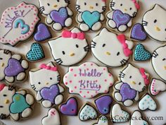 Hello Kitty design for birthday party! So much fun!