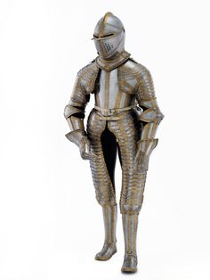 Armour of King Charles I as a boy. Dutch, about 1616