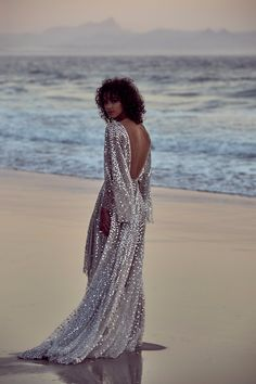 One Day Bridal. The Toby Gown #weddingdresses #sequindresses