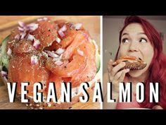 Vegan Smoked Salmon + Cream Cheese // Recipe Test - YouTube