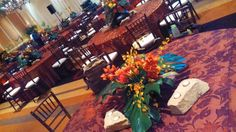 Floral work I did in 2013 for a fundraiser for the Elephant Sanctuary in Tennessee. With AmosEvents