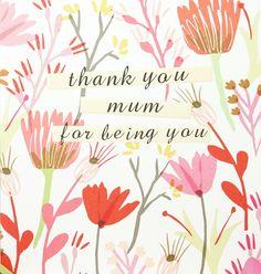 Print & Pattern blog: Mother's Day card by Caroline Gardner