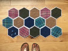 Quilt as You Go Big Hexie Tutorial – Ginger Peach Studio