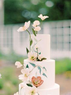 Wedding Sweets, Elegant Wedding Cakes, Beautiful Wedding Cakes, Wedding Cake Designs, Dream Wedding, Wedding Day, Wedding Wishes, Decadent Cakes, Wedding Cake Inspiration
