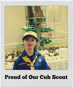 To My Son's Cub Scouts Leaders - Thank You! -