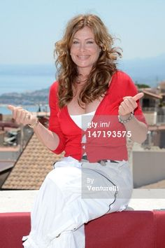 News Photo :TAORMINA, ITALY - JUNE 27: Kelly LeBrock poses at the photocall of Day 5 during the 58th Taormina Film Fest on June 27, 2012 in Taormina, Italy