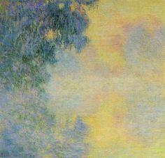 Misty Morning on the Seine, Sunrise - Claude Monet 1897