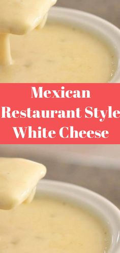 Mexican Restaurant Style White Cheese (Queso) Dip ( The post Mexican Restaurant Style White Cheese (Queso) Dip appeared first on Recipes. Cheese Recipes, Sauce Recipes, Appetizer Recipes, Cooking Recipes, Appetizer Party, Copykat Recipes, Dinner Recipes, Mexican Dishes, Mexican Food Recipes