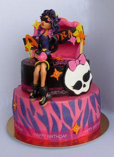 Monster High Cake  Cake by Smile