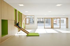 Kindergarten Terenten Design by Feld72 Architects - Architecture & Interior Design Ideas and Online Archives | ArchiiiArchiii