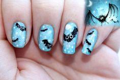 DIY halloween nails: DIY Halloween nail art : Halloween Nail Art