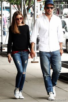 olivia palermo casual style- I just might buy some converse