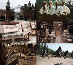 Harry Potter Aesthetics  ➤ Wizarding school: Ilvermorny