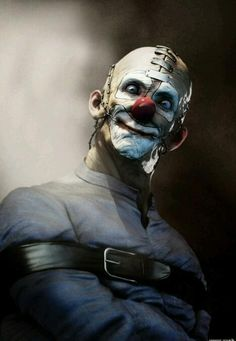 """clown? Shouldn't be able to use what is normally considered a """"fun"""" word to describe this abomination........."""