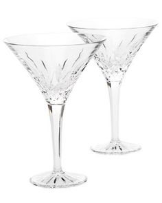 Waterford 'Lismore' Set of 4 Martini Glasses