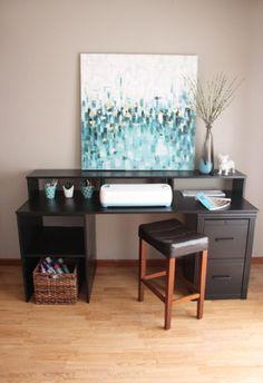 gamer paragon gaming desk idea furniture pinterest ider skrivbord och design