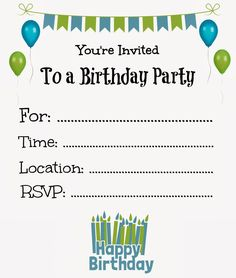 Flat floral free printable birthday invitation template its a princess thing free printable birthday invitations for kids stopboris Image collections