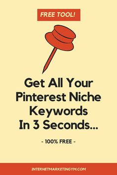 Get your Pinterest SEO ready with the Pin Keyword Finder Chrome extension. It will quickly and easily find all of your long tail keywords on Pinterest.