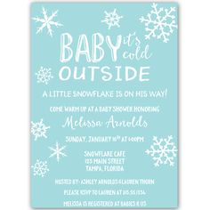 Little Snowflake Baby Shower Invitation, Gray Little Snowflake Neutral Baby Shower Invitation – Invite guests to your gender neutral baby shower with this simple winter themed invitation featuring snowflakes and decorative white lettering on. Snowflake Baby Shower, Little Snowflake, Christmas Baby Shower, Winter Baby Shower Decor, Baby Shower Winter Wonderland, White Baby Showers, Baby Shower Purple, Baby Shower Boys, Purple Baby