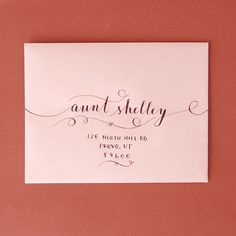 love this #calligraphy that goes off the page!