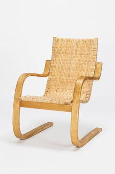 Alvar Aalto Lounge Chair 406 Birch 60's