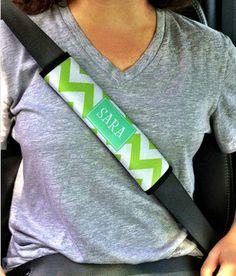 Personalized Car Seatbelt Strap