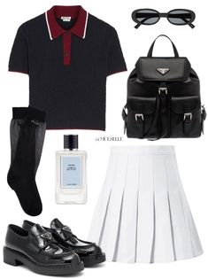 Kpop Fashion Outfits, Girl Outfits, Casual Outfits, Pretty Outfits, Cute Outfits, Vetement Fashion, College Outfits, Looks Vintage, Polyvore Outfits