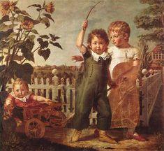 Artist  Philipp Otto Runge (1777–1810) Title Deutsch: Die Hülsenbeckschen Kinder Date 1805-1806