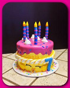 "Shopkins ""Wishes"" birthday cake"