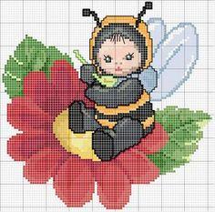 """Ellen Maurer-Stroh """"Bumble Bee Baby""""  ~   Saved from encantosempontocruz-barbie.blogspot.com.es"""