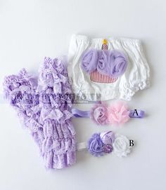 Cute Diy idea...Baby Girls First Birthday Cake Smash Bloomers Outfit Set | eBay