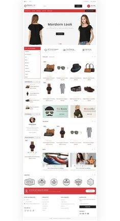 Pitchlook – The Morden Fashion Template is a good choice for selling – … - Blackfriday Design Ecommerce Website Design, Website Design Layout, Best Shopify Themes, Restaurant Themes, Fashion Templates, Photoshop, Pet Store, Flower Food, Choice Fashion