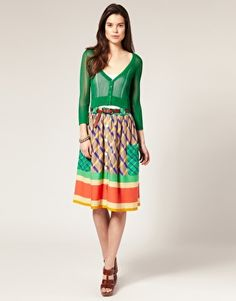 Clothes by Mango. But so expensive from where I came from XD
