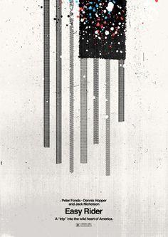 Minimalist Movie Poster: Easy Rider