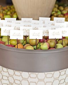 With fall comes cool, crisp weather, gorgeous autumnal foliage, and the perfect opportunity for throwing a seasonal wedding. Warm spices and comfort recipes lend themselves to delicious cocktails and reception menus, earthy color schemes provide endless inspiration for flowers and fashion, and on-theme motifs (think: pumpkins, apples, and all things autumn) canadd a timely vibe to stationery. Casual or formal, rustic or modern, fall favorites are versatile enough for any type of weddin...