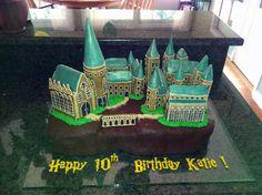 Hogwarts Cake on Cake Central