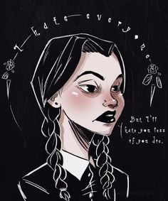 Wednesday Addams by WanderingLola